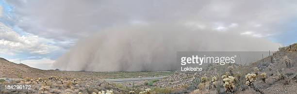 Dust Storm Haboob Panorama