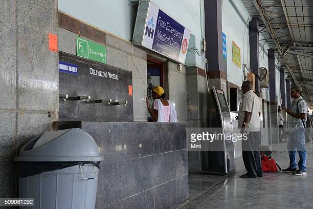 Dustbins are mounted or kept all around at the station ever since Swachh Bharat Abhiyan is been launched by PM Modi on February 24 2015 in Bengaluru...