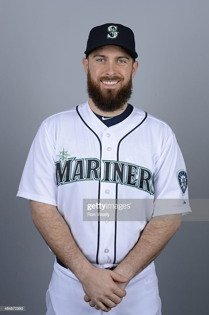 <a gi-track='captionPersonalityLinkClicked' href=/galleries/search?phrase=Dustin+Ackley&family=editorial&specificpeople=4352278 ng-click='$event.stopPropagation()'>Dustin Ackley</a> #13 of the Seattle Mariners poses during Photo Day on Thursday, February 26, 2015 at the Peoria Sports Complex in Peoria, Arizona.