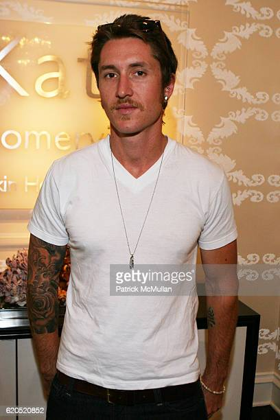 Dustin Bath attends Kate Somerville Emmy Event The WHITE Room – Day 3 at Kate Somerville on September 20 2008 in Los Angeles CA