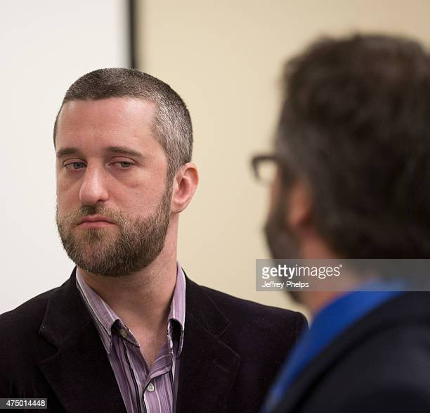 Dustin Diamond listens to testimony during his trial in the Ozaukee County Courthouse May 28 2015 in Port Washington Wisconsin Diamond best known for...