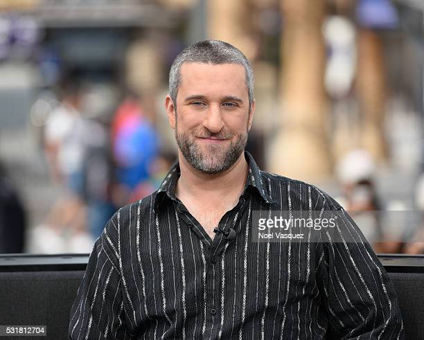 Dustin Diamond visits 'Extra' at Universal Studios Hollywood on May 16 2016 in Universal City California