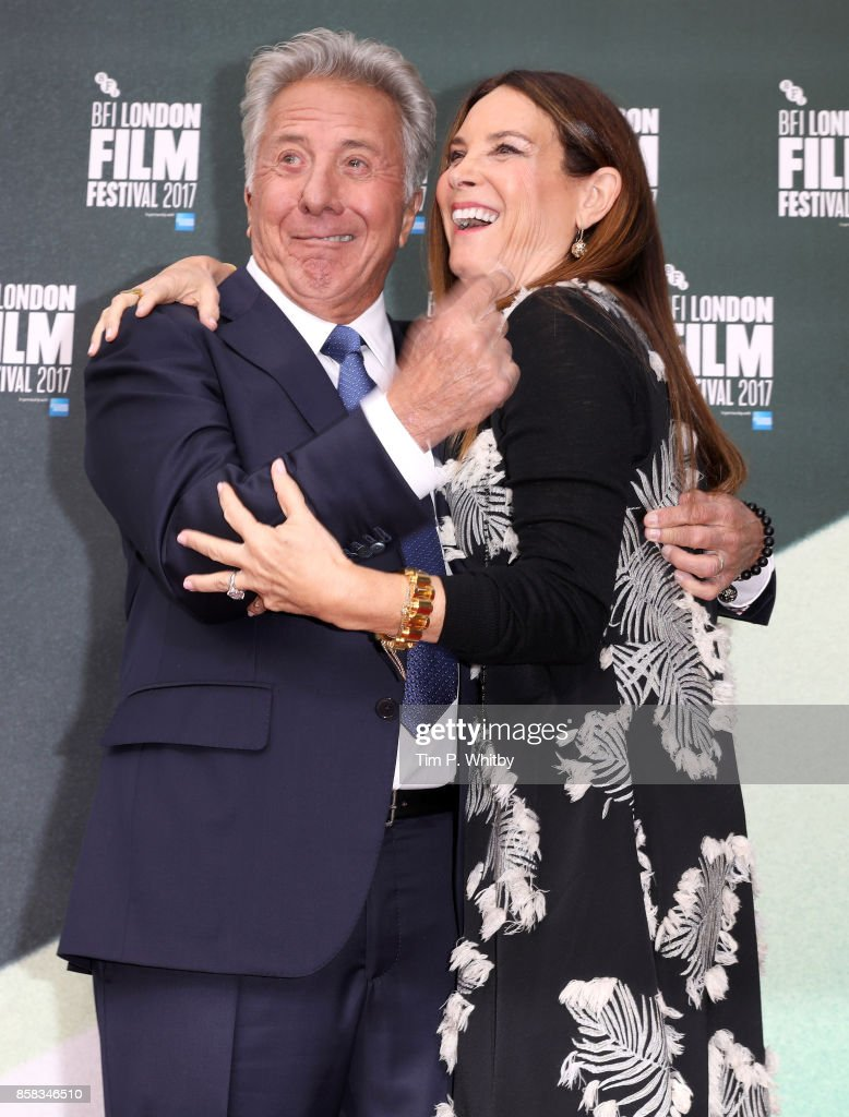 Dustin Hoffman and Lisa Hoffman attend the Laugh Gala and UK Premiere of 'The Meyerowitz Stories' during the 61st BFI London Film Festival on October 6, 2017 in London, England.