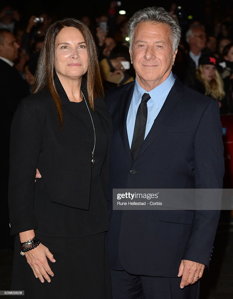 Dustin Hoffman and wife attend the premiere of Quartet at The BFI London Film Festival at Odeon Leicester Square