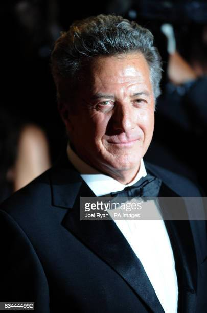 Dustin Hoffman arrives after party for the film 'Kung Fu Panda' at the Carlton pier during the 61st Cannes Film Festival in Cannes France