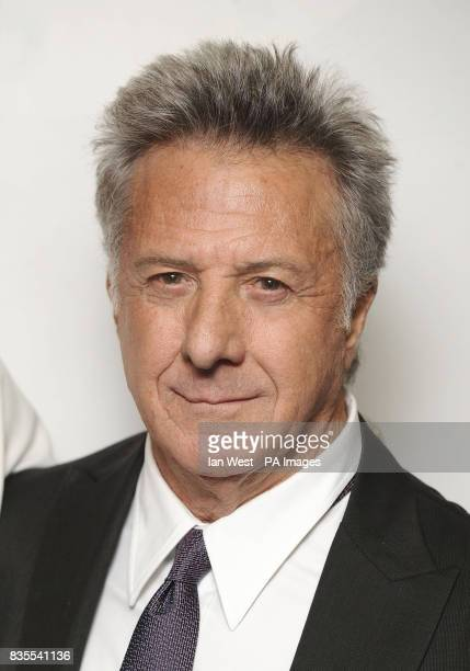 Dustin Hoffman arrives at the premiere of Last Chance Harvey at the Odeon West End in London