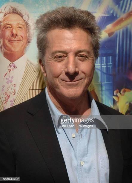Dustin Hoffman arriving for the UK film premiere of Mr Magorium's Wonder Emporium at the Empire cinema in Leicester Square London