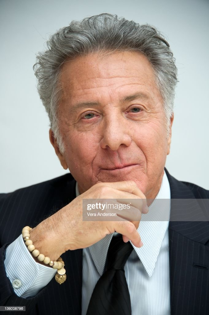 Dustin Hoffman at the 'Luck' Press Conference at Four Seasons Hotel on February 15, 2012 in Beverly Hills, California.