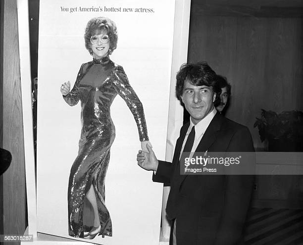 Dustin Hoffman at the New York Premiere of Tootsie circa 1982 in New York City