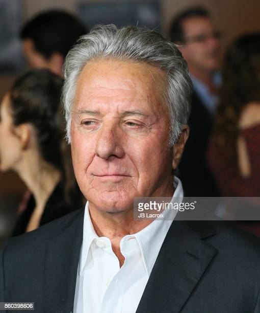 Dustin Hoffman attends a screening of Netflix's on October 11 2017 in Los Angeles California