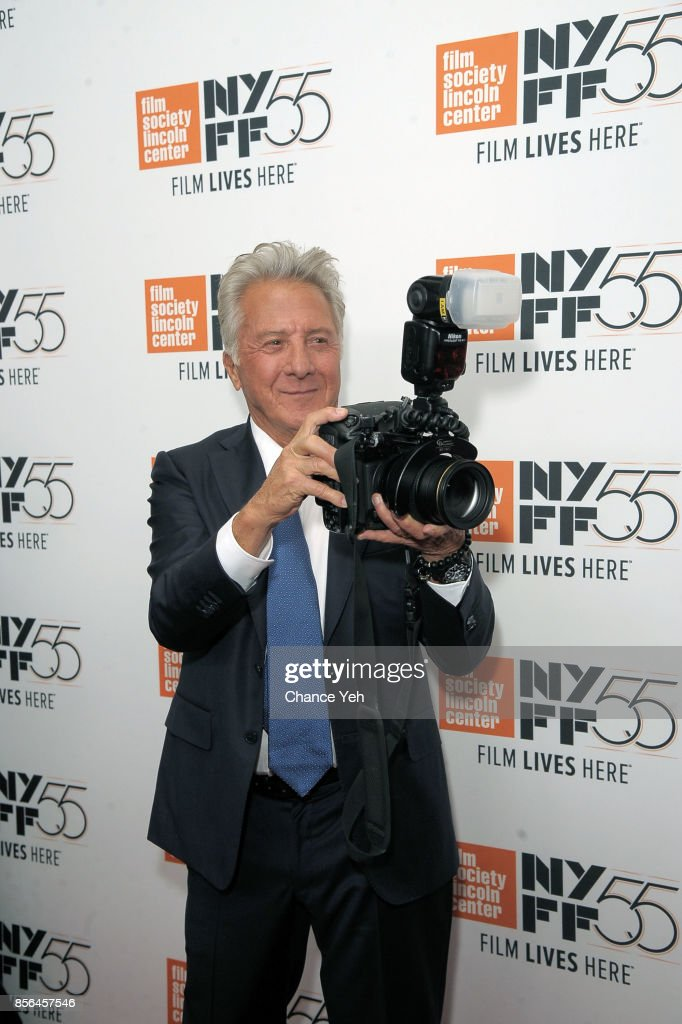 Dustin Hoffman attends 'Meyerowitz Stories' screening during the 55th New York Film Festival at Alice Tully Hall on October 1, 2017 in New York City.
