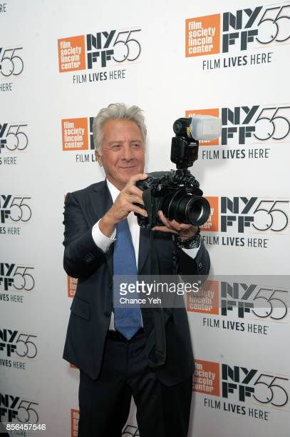 Dustin Hoffman attends 'Meyerowitz Stories' screening during the 55th New York Film Festival at Alice Tully Hall on October 1 2017 in New York City
