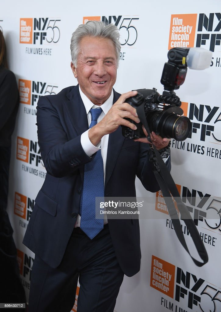 Dustin Hoffman attends The 55th New York Film Festival - 'Meyerowitz' at Alice Tully Hall on October 1, 2017 in New York City.