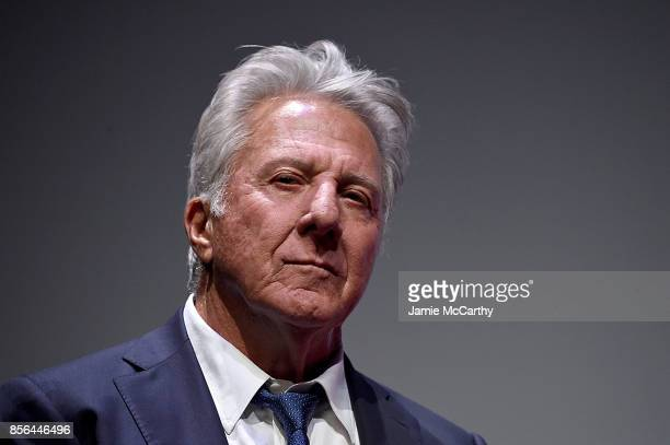 Dustin Hoffman attends the 55th New York Film Festival 'Meyerowitz Stories' at Alice Tully Hall on October 1 2017 in New York City
