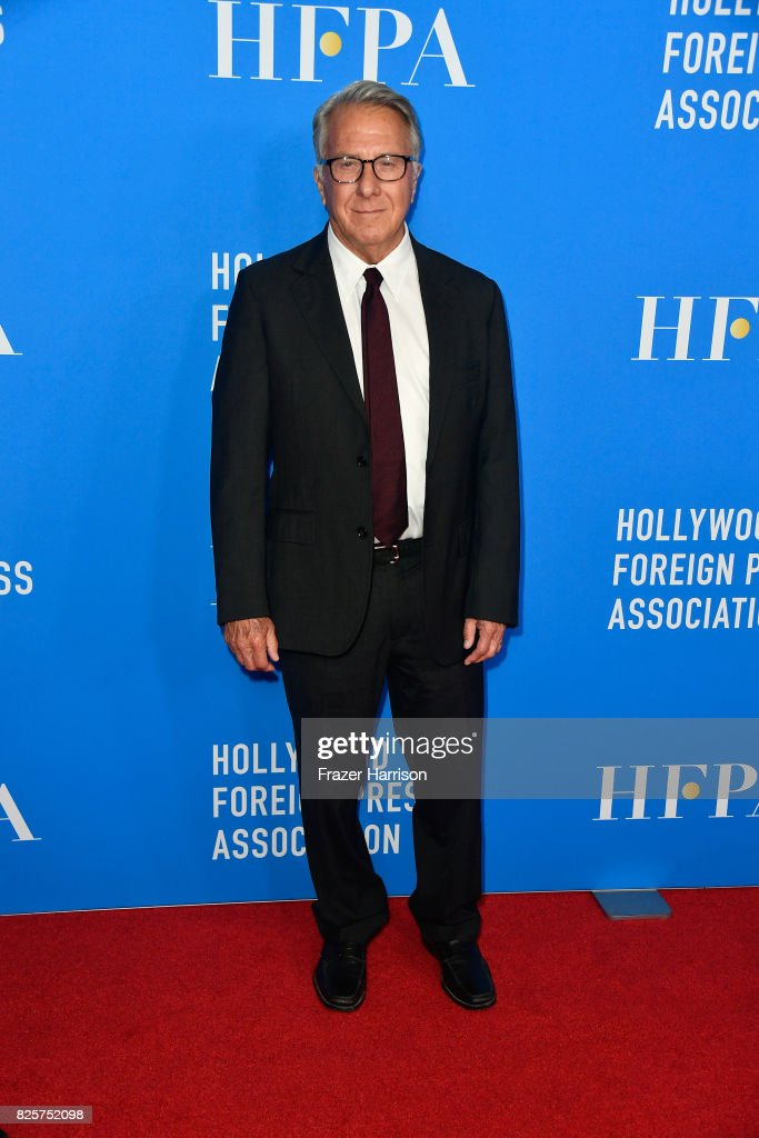 Dustin Hoffman attends the Hollywood Foreign Press Association's Grants Banquet at the Beverly Wilshire Four Seasons Hotel on August 2, 2017 in Beverly Hills, California.