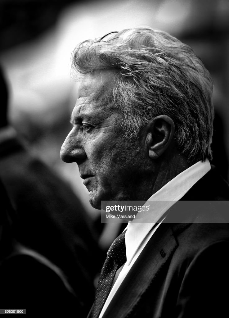 Dustin Hoffman attends the Laugh Gala & UK Premiere of 'The Meyerowitz Stories' during the 61st BFI London Film Festival on October 6, 2017 in London, England.