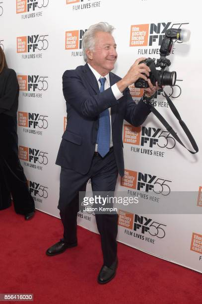 Dustin Hoffman attends the New York Film Festival premiere of The Meyerowitz Stories at Alice Tully Hall on October 1 2017 in New York City