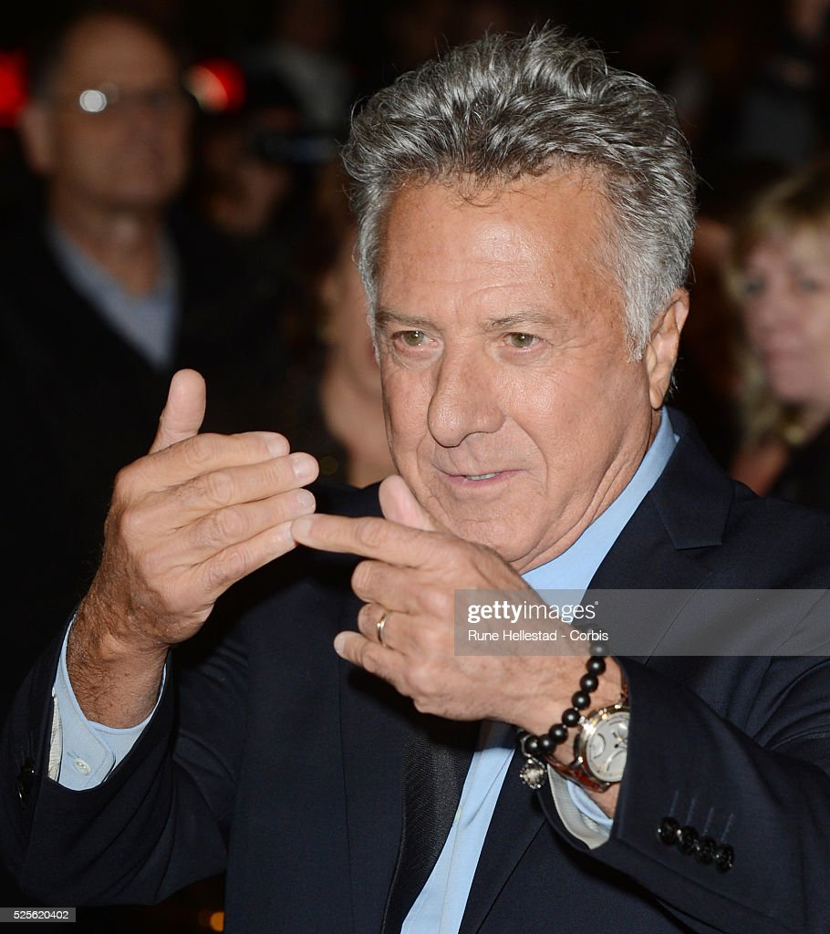 Dustin Hoffman attends the premiere of Quartet at The BFI London Film Festival at Odeon Leicester Square