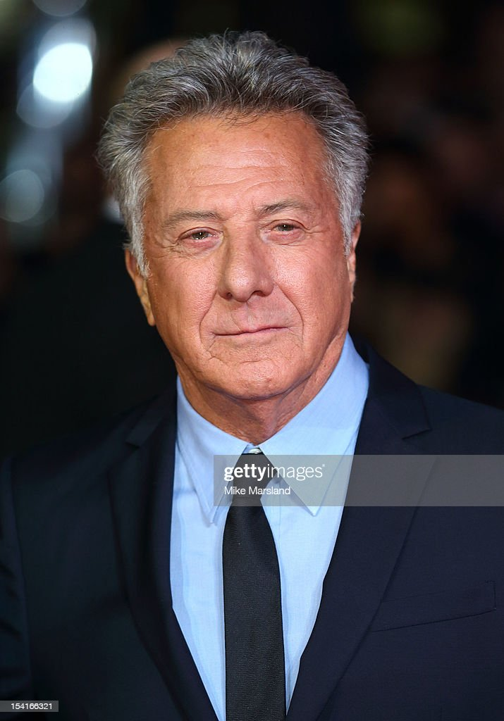 Dustin Hoffman attends the Premiere of 'Quartet' during the 56th BFI London Film Festival at Odeon Leicester Square on October 15, 2012 in London, England.