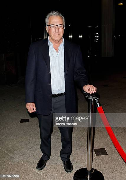Dustin Hoffman attends the screening and reception for sundance selects' '45 Years' at iPic Westwood on November 13 2015 in Westwood California