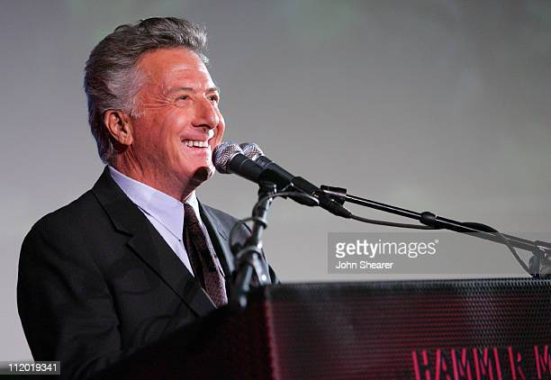 Dustin Hoffman during 2007 Los Angeles Film Festival Spirit of Independence Honors Clint Eastwood Cocktail Party and Inside at Hammer Museum Billy...