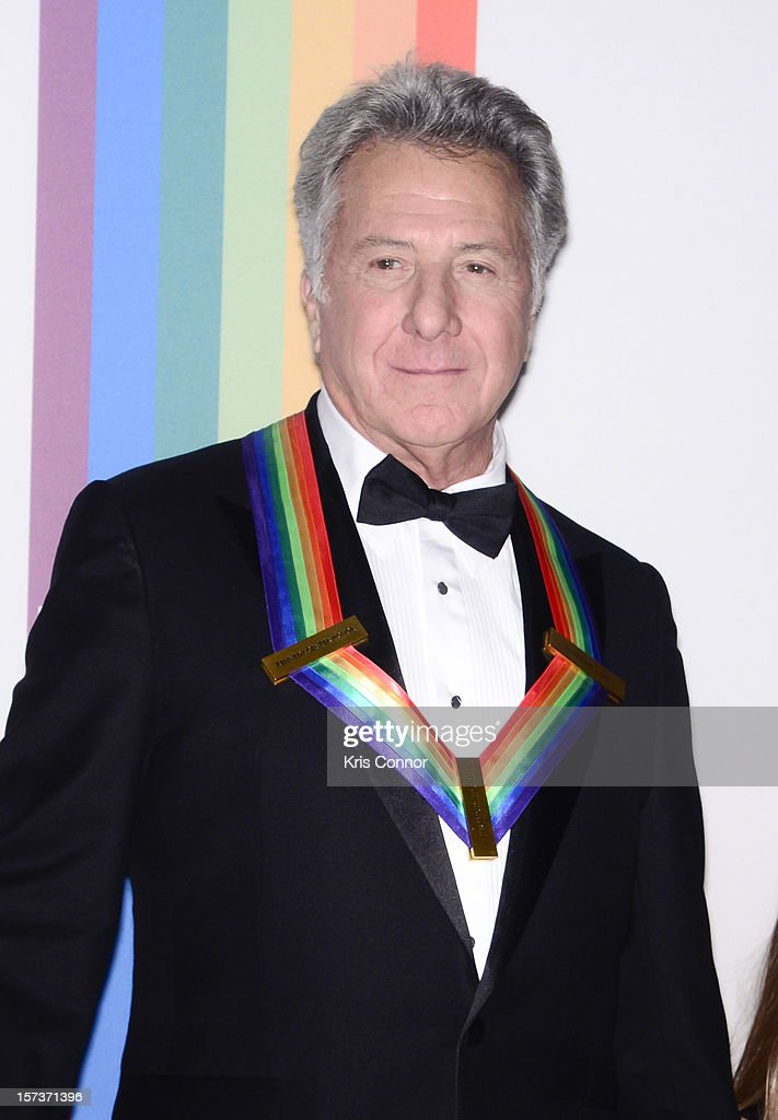 <a gi-track='captionPersonalityLinkClicked' href=/galleries/search?phrase=Dustin+Hoffman&family=editorial&specificpeople=171356 ng-click='$event.stopPropagation()'>Dustin Hoffman</a> poses for photographers during the 35th Kennedy Center Honors at the Kennedy Center Hall of States on December 2, 2012 in Washington, DC.