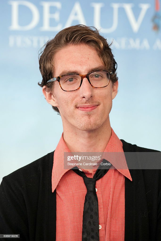 Dustin Ingram poses during the photocall for movie 'Meet Monica Velour' at the 36th American Film Festival in Deauville.