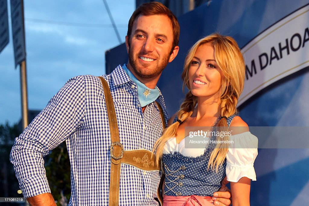 <a gi-track='captionPersonalityLinkClicked' href=/galleries/search?phrase=Dustin+Johnson&family=editorial&specificpeople=3908453 ng-click='$event.stopPropagation()'>Dustin Johnson</a> attends with <a gi-track='captionPersonalityLinkClicked' href=/galleries/search?phrase=Paulina+Gretzky&family=editorial&specificpeople=2646375 ng-click='$event.stopPropagation()'>Paulina Gretzky</a> the BMW International Open 25th Anniversary Party at Rilano No.6 Lenbach Palais on June 21, 2013 in Munich, Germany.