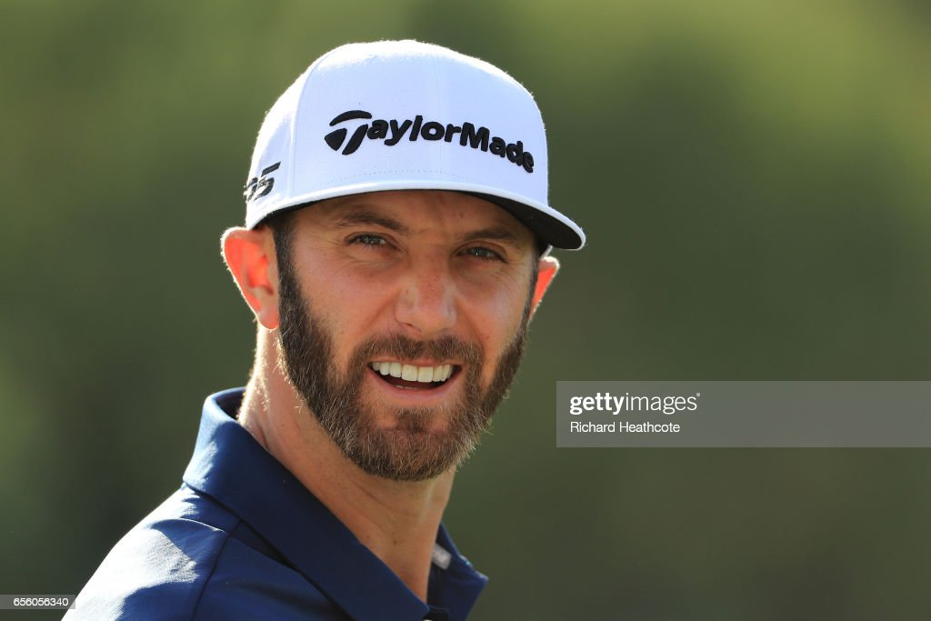 Dustin Johnson of the USA warms up on the driving range ahead of a practise round for the WGC Dell Match Play at Austin Country Club on March 21, 2017 in Austin, Texas.