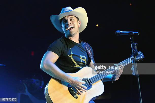 Dustin Lynch opened the concert at Boardwalk Hall Arena on June 3 2016 in Atlantic City New Jersey