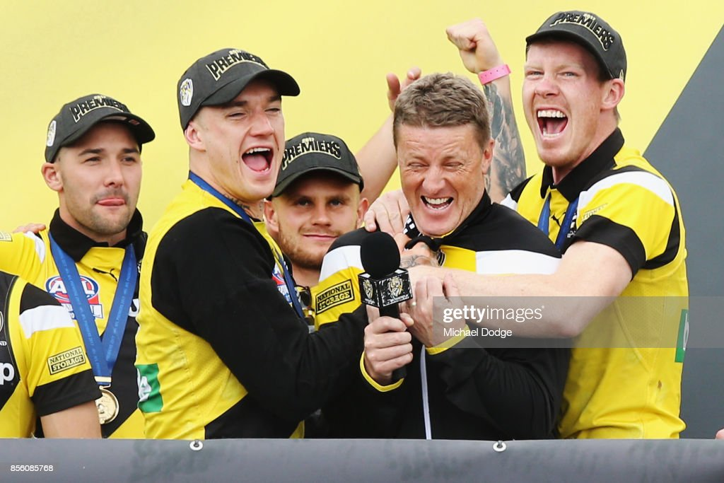 Richmond Tigers AFL Grand Final Celebrations