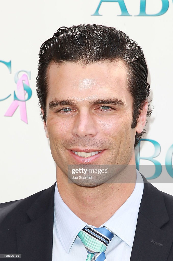 Dustin Moss arrives at ABC's Mother's Day luncheon at Four Seasons hotel Los Angeles at Beverly Hills on May 8, 2013 in Beverly Hills, California.