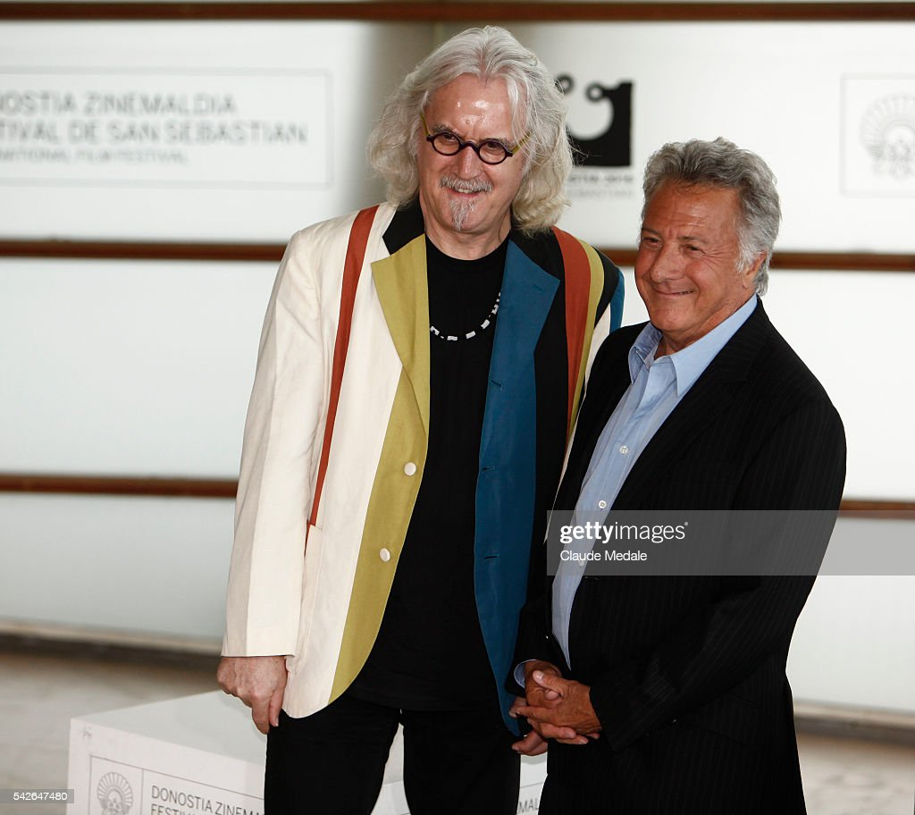 Dustin Offman director and Billy Commoly actor in the movie 'Quartet' during the 60th International Film Festival of San Sebastian