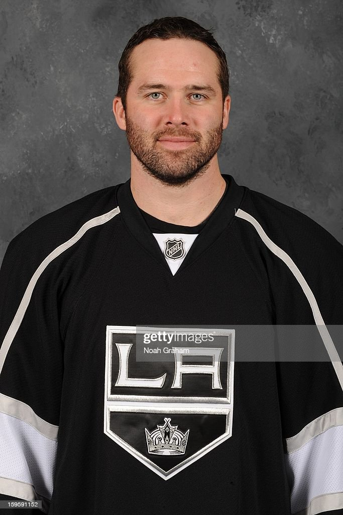 Dustin Penner #25 of the Los Angeles Kings poses for his official headshot for the 2012-2013 season on January 12, 2013 at Staples Center in Los Angeles, California.