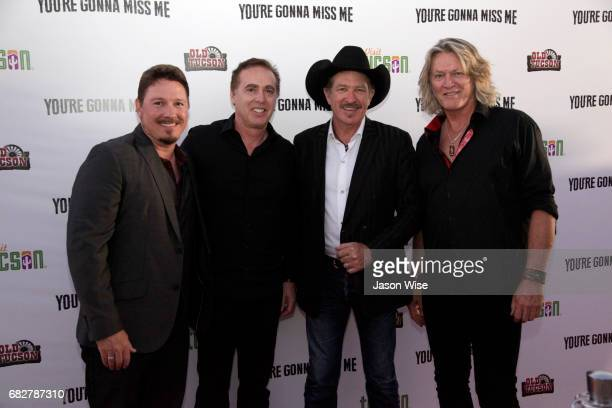 Dustin Rykert John Kuelbs Kix Brooks and William Shockley attend 'You're Gonna Miss Me' premiere sponsored by Visit Tucson on May 13 2017 in Tucson...