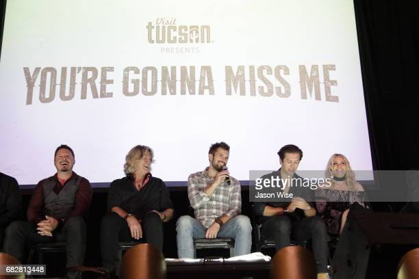 Dustin Rykert William Shockley Justin Deeley Leo Howard and Eden XO attend 'You're Gonna Miss Me' premiere sponsored by Visit Tucson on May 13 2017...