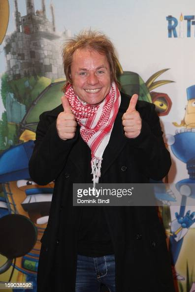Dustin Semmelrogge attends the Ritter Rost Premiere on January 6 2013 in Munich Germany