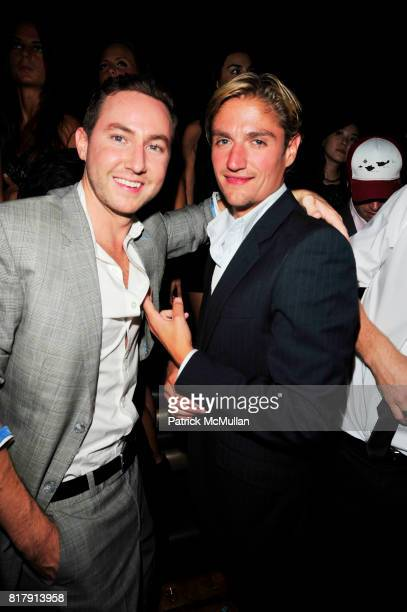 Dustin Terry and Matt Assante attend LAVO NY Grand Opening at LAVO NYC on September 14 2010 in New York City