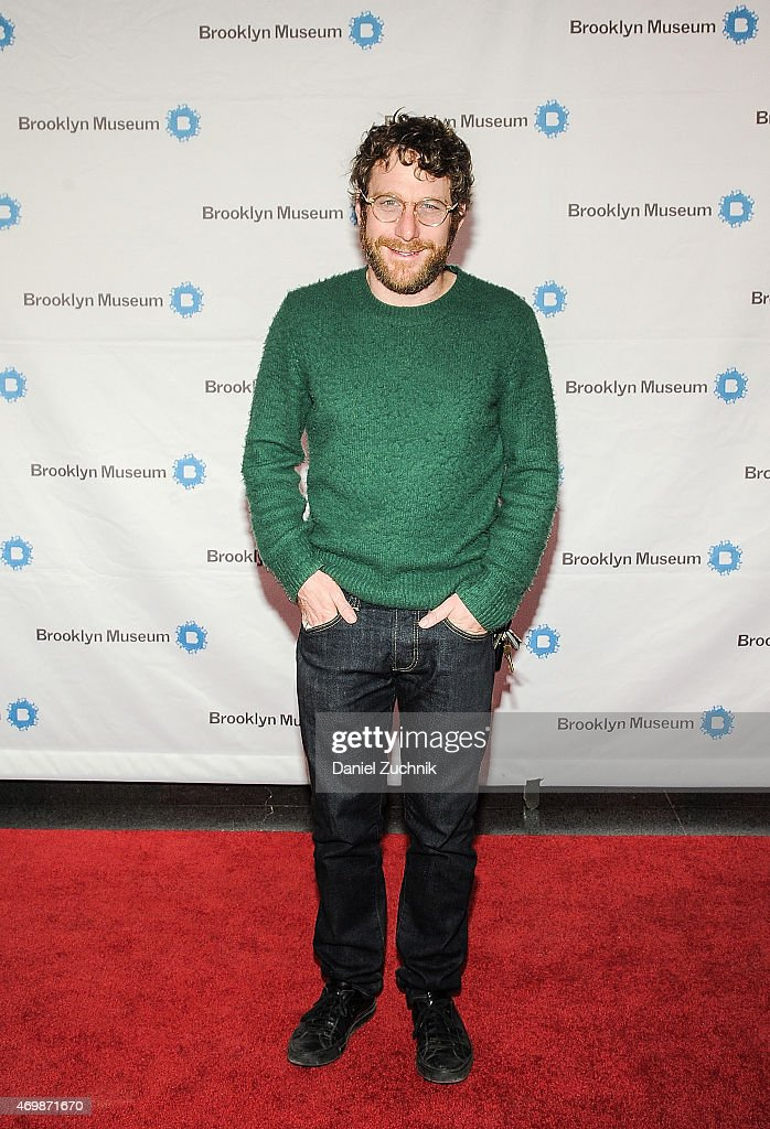 Dustin Yellin attends the 5th Annual Brooklyn Artists Ball at Brooklyn Museum on April 15 2015 in New York City