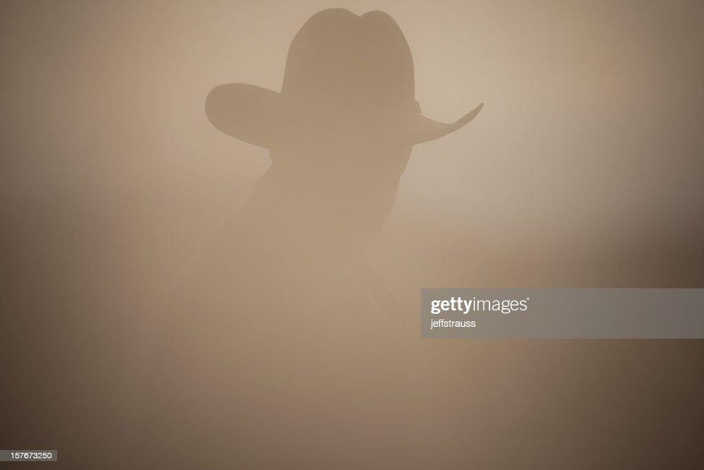 dusty cowboy : Stock Photo