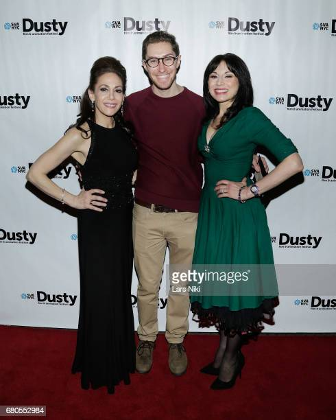 Dusty Film and Animation Festival Producer/Director Annie Flocco IFP Program Manager and Producer Zach Mandinach and actor Valerie Smaldone attend...