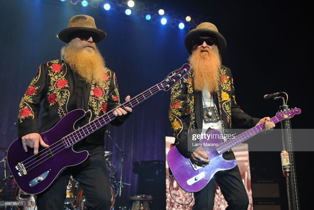 ZZ Top Perform At Hard Rock Live