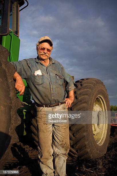 Dusty ole farmer