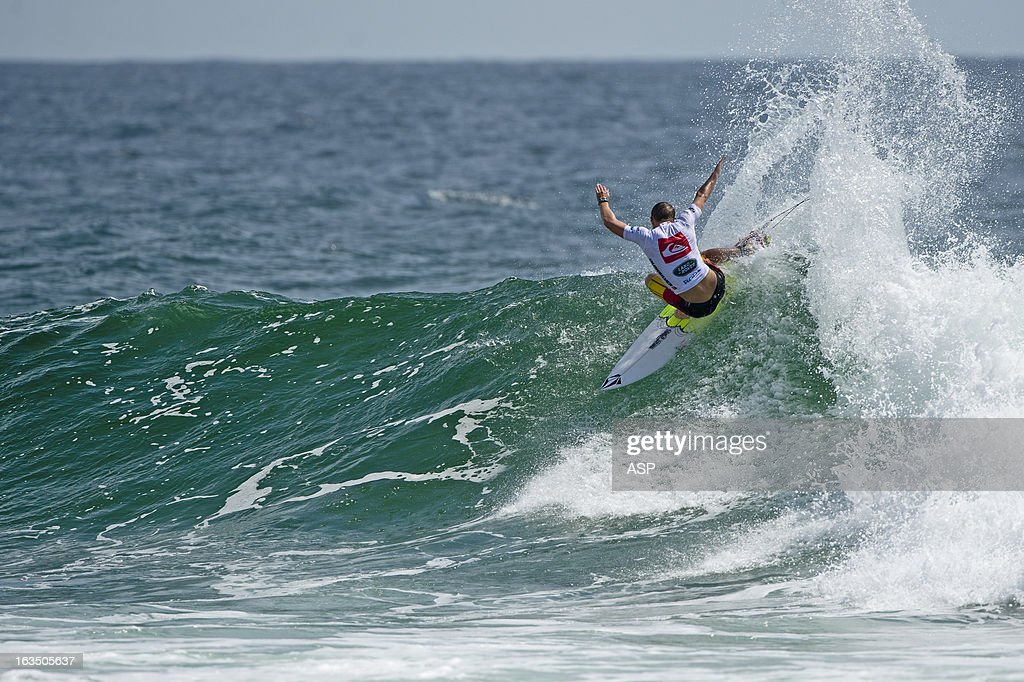 Dusty Payne of Hawaii in action during the Quiksilver Pro on March 11, 2013 in Gold Coast, Australia.