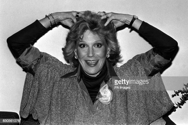 Dusty Springfield as she poses for a barrage of photographers at the Savoy Hotel in London Dusty who now lives in Los Angeles is trying to make a...