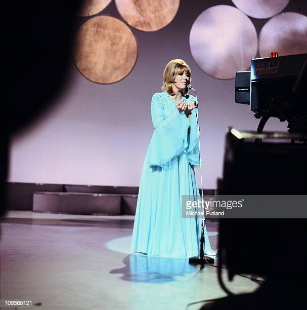 Dusty Springfield performing on a UK TV show London September 1970