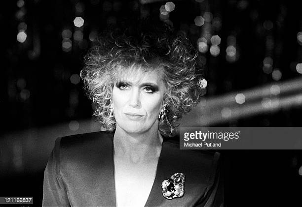 Dusty Springfield studio portrait shooting cover for 'Nothing Has Been Proved' single London December 1988