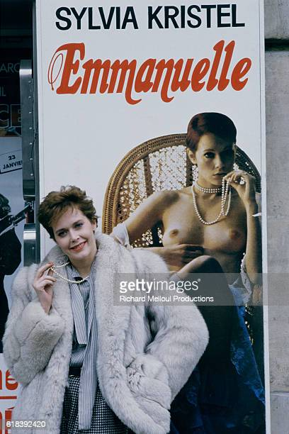 Dutch actress model and singer Sylvia Kristel gained international attention in 1974 for playing the title character in the softcore film Emmanuelle