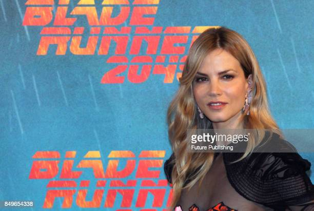 Dutch actress Sylvia Hoeks pose during the photocall for ''Blade Runner 2049'' on September 19 2017 in Rome Italy PHOTOGRAPH BY Marco Ravagli /...