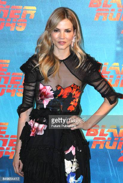 Dutch actress Sylvia Hoeks poses during the photocall for ''Blade Runner 2049'' on September 19 2017 in Rome Italy PHOTOGRAPH BY Marco Ravagli /...
